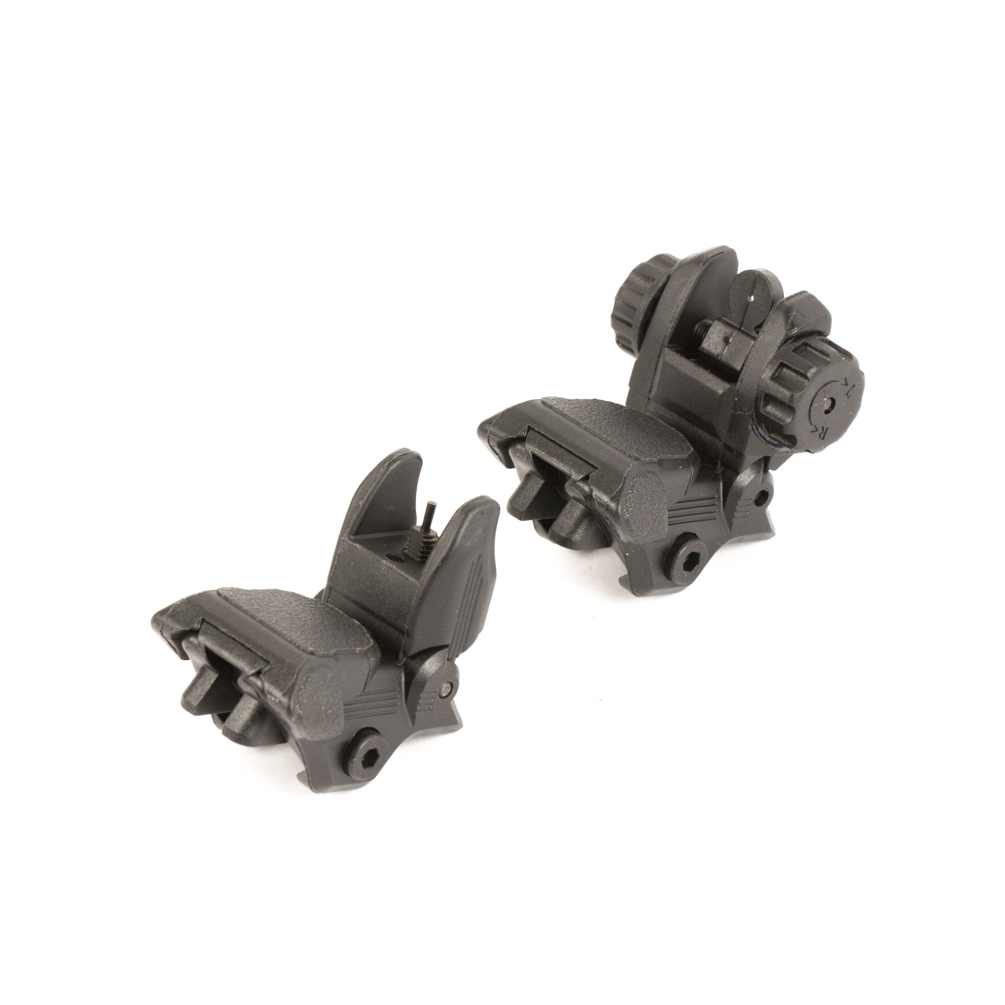 Lakota Ops Polymer Backup Sight Set - Black